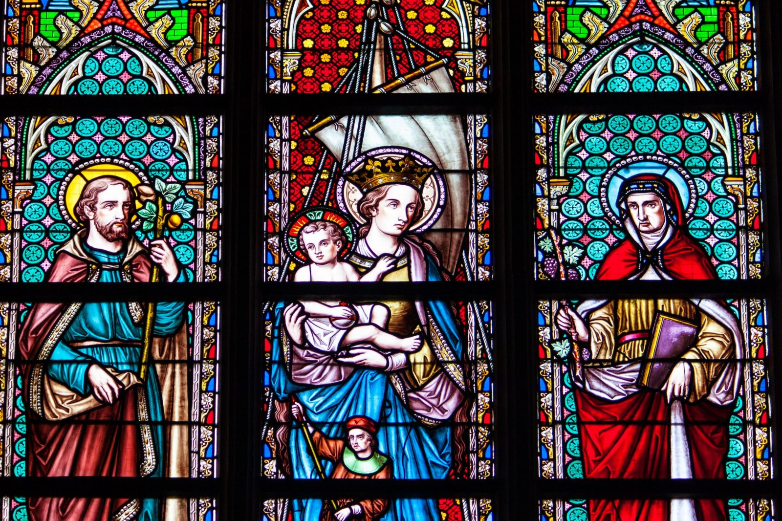 Private Tour Brussels, Glass of the church